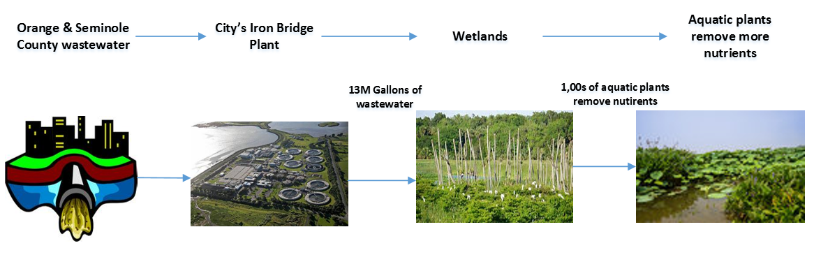 Orlando Wetlands Park Diagram