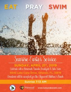 Eat Pray Swim - Sunrise Easter Service 2019 @ Orlando | Florida | United States