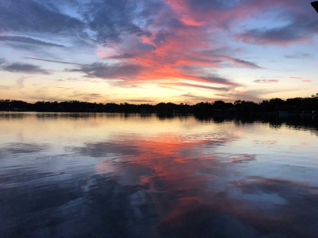 Lake Cane Sunset