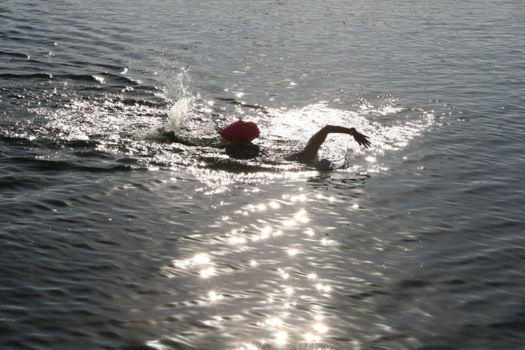 Sparkling Style Swimmer