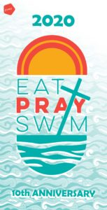 Eat Pray Swim Towel